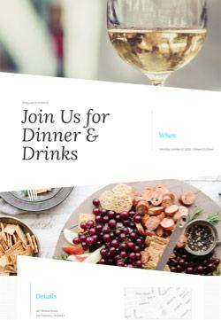 Dinner Party - Dinner Party - Modern Invitation