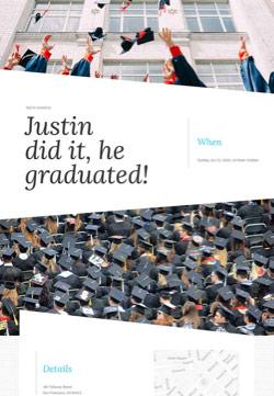 Graduation - Graduation Party - Modern Invitation