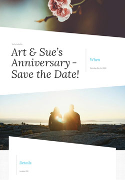 Love - Save the Date - Modern Invitation