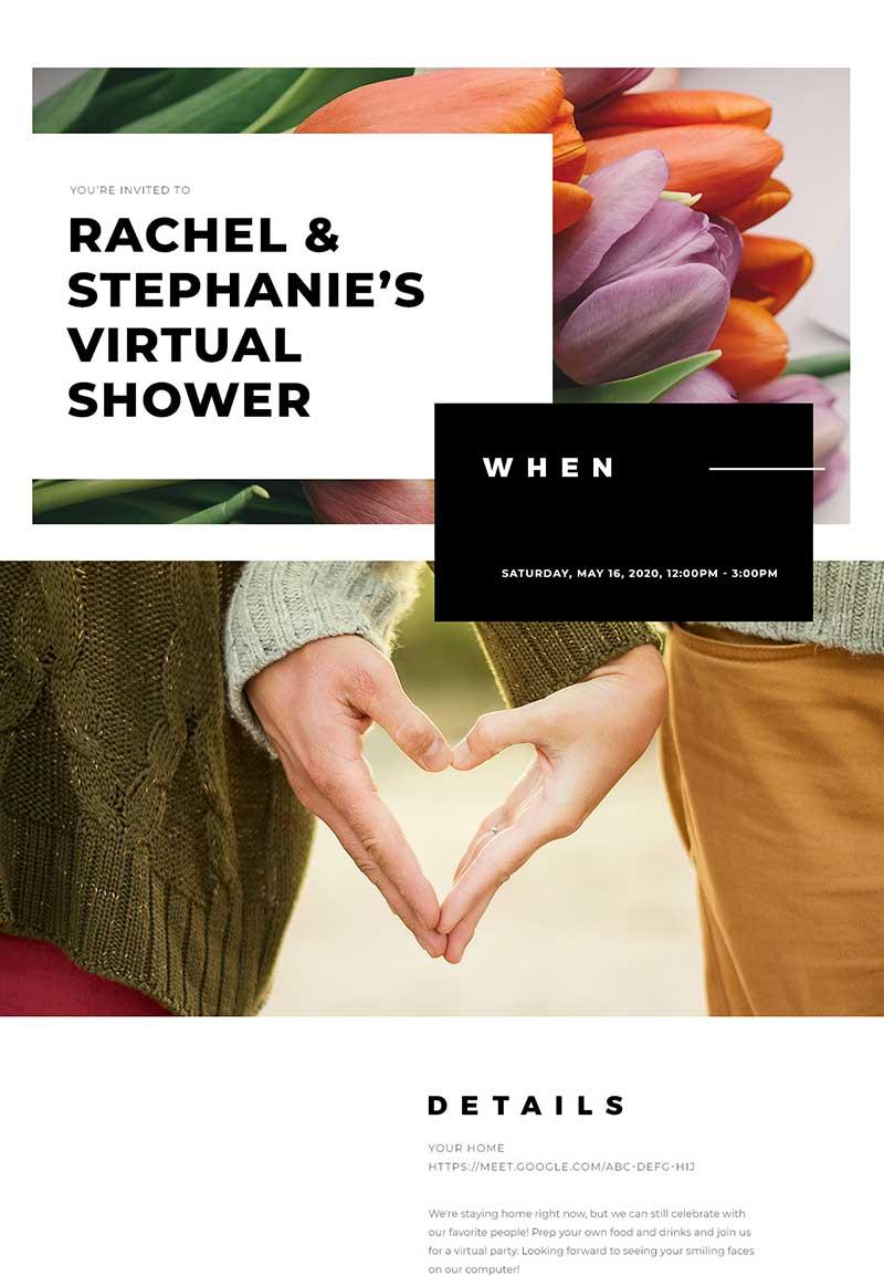 Love - Wedding Shower - Classic Invitation