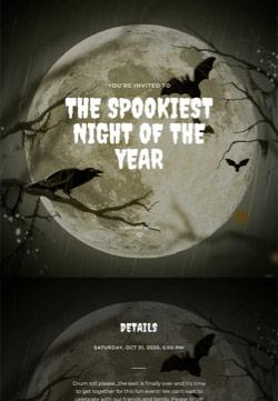Seasonal - Halloween - Immersive Invitation